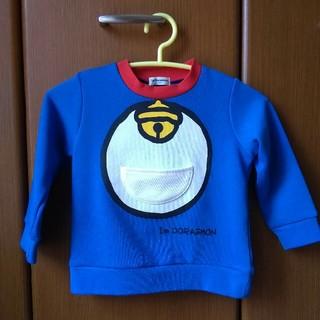 サンリオ(サンリオ)の新品 ドラえもん 四次元ポケット付き なりきり トレーナー 100cm(Tシャツ/カットソー)