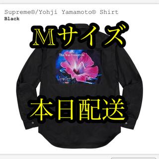 シュプリーム(Supreme)のSupreme®︎/Yohji Yamamoto®︎ Shirt Black M(シャツ)