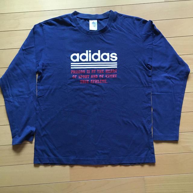 adidas(アディダス)の男の子 長袖Tシャツ 160 キッズ/ベビー/マタニティのキッズ服男の子用(90cm~)(Tシャツ/カットソー)の商品写真