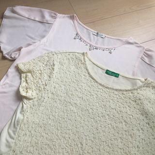 アースミュージックアンドエコロジー(earth music & ecology)の美品♡夏服トップス2点セット(Tシャツ(半袖/袖なし))
