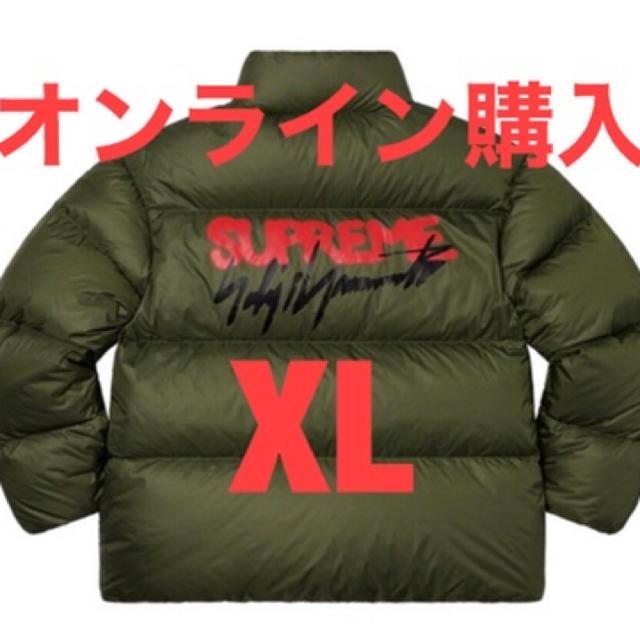 Supreme(シュプリーム)の20aw Supreme Yohji Yamamoto Down Jacket メンズのジャケット/アウター(ダウンジャケット)の商品写真