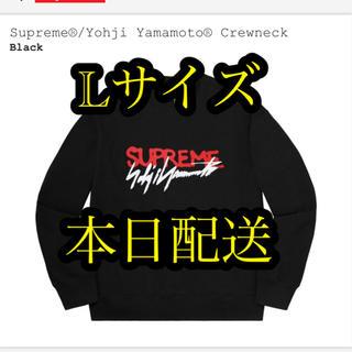 シュプリーム(Supreme)のSupreme  Yohji Yamamoto Crewneck black L(スウェット)