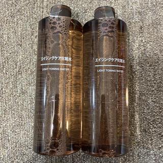ムジルシリョウヒン(MUJI (無印良品))のエイジングケア化粧水 2本(化粧水/ローション)