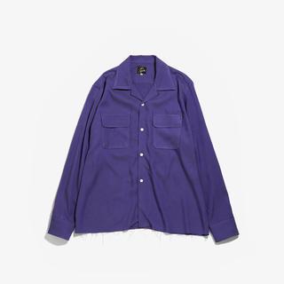 ニードルス(Needles)の【求む】Needles C.O.B. CLASSIC SHIRT purple(シャツ)