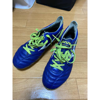 MIZUNO - MIZUNO モレリアネオ2 青×黄 25.5cm