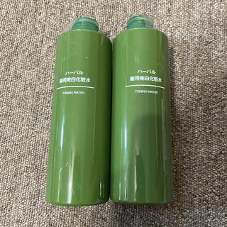 ムジルシリョウヒン(MUJI (無印良品))の無印良品 ハーバル薬用美白化粧水 2本(化粧水/ローション)