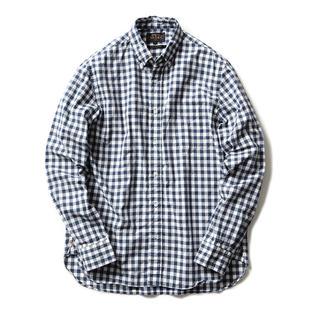 ビームス(BEAMS)の新品!BEAMS PLUS!タイプライターギンガムチェックボタンダウンシャツ!(シャツ)