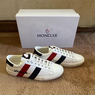 モンクレール(MONCLER)のモンクレール★モンペリエスニーカー★サイズ42(スニーカー)