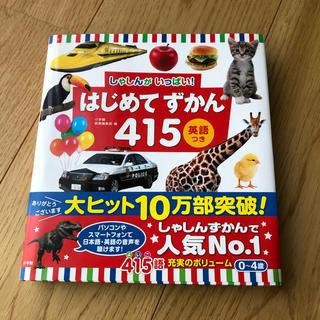 ショウガクカン(小学館)のはじめてずかん415 英語つき しゃしんがいっぱい!(絵本/児童書)