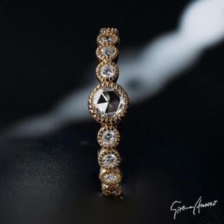 セイレーンアズーロ k18 ロゼッタクラシコ ダイヤモンド リング(リング(指輪))