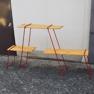 アイアンレッグ  ハイタイプ(板なし)(テーブル/チェア)