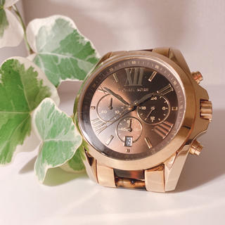 マイケルコース(Michael Kors)のMICHAEL KORS 腕時計 べっ甲(腕時計(アナログ))