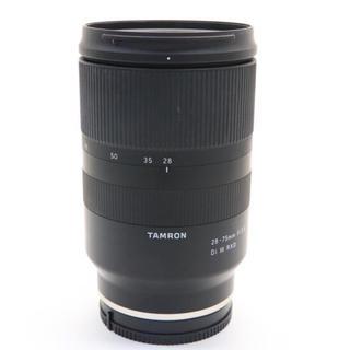 TAMRON - TAMRON (タムロン) 28-75mm F2.8 DiIII RXD
