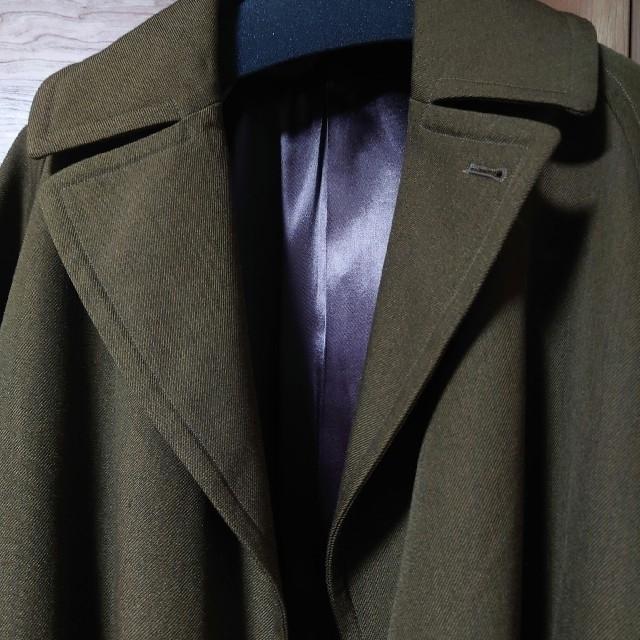 COMOLI(コモリ)のiku様専用 COMOLI 18AW ウールサージタイロッケン ブラウン 1 メンズのジャケット/アウター(チェスターコート)の商品写真