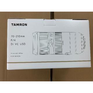 TAMRON70-210mm F/4 Di VC USD  ニコン用レンズ