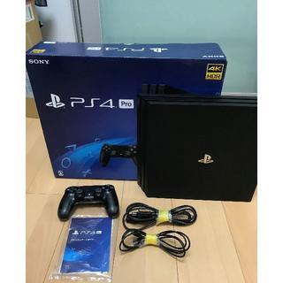 SONY PS4 PRO 1TB (CUH7100B B01)中古動作品