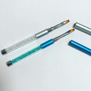 【新品】ネイル筆,ジェルネイルのキラキラネイルブラシ,ネイル用品,セルフネイル