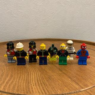 レゴ(Lego)のLEGO レゴ ミニフィグ8体 ジャンク(積み木/ブロック)