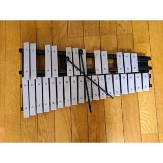 パッチ様専用 折りたたみ式 グロッケン(鉄琴)(鉄琴)