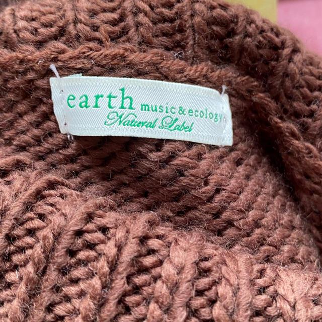 earth music & ecology(アースミュージックアンドエコロジー)のearth music&ecology ニットワンピース レディースのワンピース(ひざ丈ワンピース)の商品写真