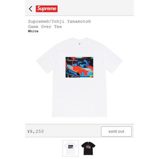 シュプリーム(Supreme)のSupreme Yohji Yamamoto Game Over Tee (Tシャツ/カットソー(半袖/袖なし))
