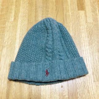 ポロラルフローレン(POLO RALPH LAUREN)のニット帽 ニットキャップ ポロ(ニット帽/ビーニー)