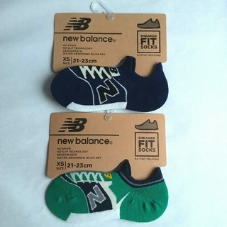 New Balance - 新品 new balance スニーカー型ソックス 靴下 2足セット