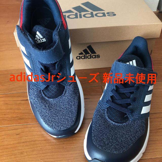 adidas(アディダス)の新品未使用 Jr 21センチ adidas キッズ/ベビー/マタニティのキッズ靴/シューズ(15cm~)(スニーカー)の商品写真