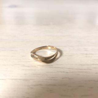 K18 ピンキーリング 18金 指輪(リング(指輪))