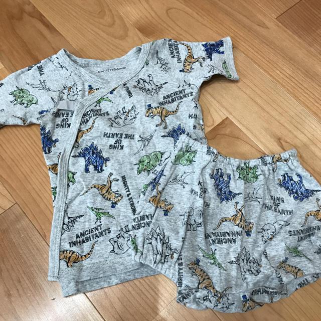 ampersand(アンパサンド)のセットアップ キッズ/ベビー/マタニティのベビー服(~85cm)(ロンパース)の商品写真