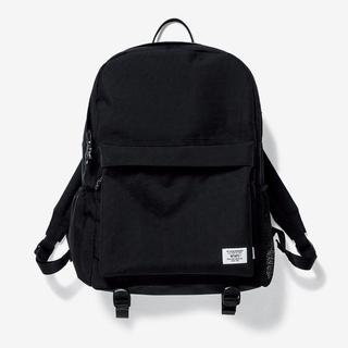 ダブルタップス(W)taps)の黒 送料込 WTAPS BOOK PACK Backpack バックパック(バッグパック/リュック)