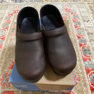 ダンスコ(dansko)のダンスコプロフェッショナル☆アンティークブラウン38(ローファー/革靴)
