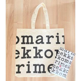 マリメッコ(marimekko)のマリメッコ ロゴーノベルティ ♡新品♡(エコバッグ)