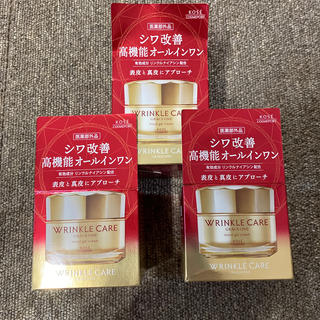 コーセー(KOSE)のグレイス ワン リンクルケア モイストジェルクリーム(100g) 3個セット(オールインワン化粧品)