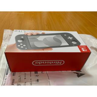 ニンテンドースイッチ(Nintendo Switch)のNintendo Switch Lite グレー1台(家庭用ゲーム機本体)