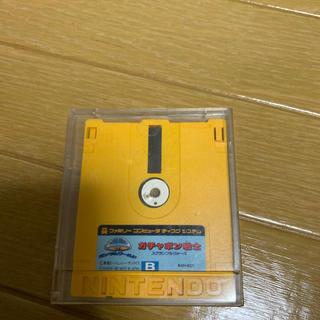 バンダイ(BANDAI)のディスクシステム ガチャポン戦士(家庭用ゲームソフト)