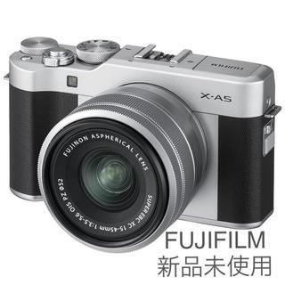 富士フイルム - FUJIFILM ミラーレス一眼カメラ X-A5 レンズキット シルバー