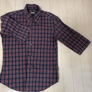 ピーピーエフエム(PPFM)のPPFM チェックシャツ(シャツ/ブラウス(長袖/七分))
