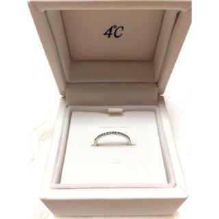 ヨンドシー(4℃)の4°C ダイヤ ピンキーリング(リング(指輪))
