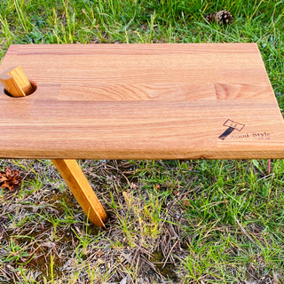 woodペグとカッティングボード(テーブル/チェア)