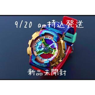 ジーショック(G-SHOCK)の即決 G-SHOCK GM-110RB-2AJF メタルカバード レインボーIP(腕時計(アナログ))