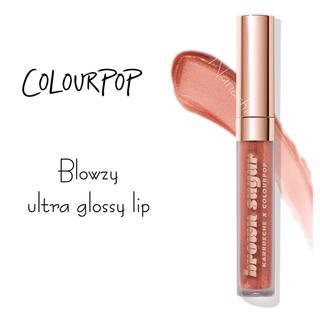 カラーポップ(colourpop)のcolourpop 🧚♀️ Blowzy ultra glossy lip(リップグロス)