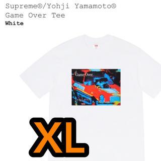 シュプリーム(Supreme)のSupreme Yohji Yamamoto Game Over Tee 白XL(Tシャツ/カットソー(半袖/袖なし))