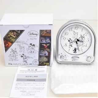 SEIKO - セイコー製 ディズニーの置時計 目覚まし付き 新品です
