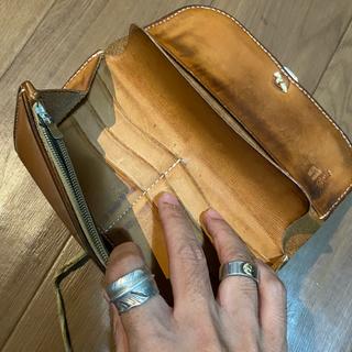 ゴローズ(goro's)のゴローズ  二つ折り長財布 ワンダラーコインコンチョカスタム(長財布)