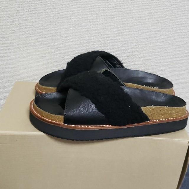 JOURNAL STANDARD(ジャーナルスタンダード)のレザー ボアサンダル レディースの靴/シューズ(サンダル)の商品写真