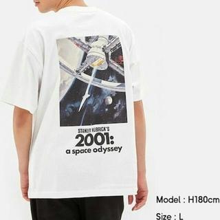 GU - 新品 ビッグT 白 L 2001年 宇宙の旅 キューブリック gu マッコール