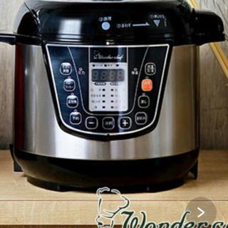 ワンダーシェフ(ワンダーシェフ)の【新品】楽ポン 電気圧力鍋 ワンダーシェフ (調理機器)