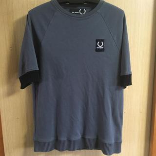 ラフシモンズ(RAF SIMONS)のRAF SIMONS FRED PERRY  5分袖カットソープルオーバー(Tシャツ/カットソー(半袖/袖なし))