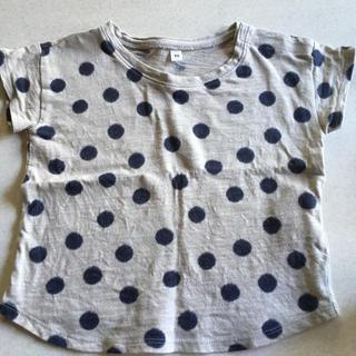 ムジルシリョウヒン(MUJI (無印良品))の無印良品 ドットTシャツ(Tシャツ/カットソー)
